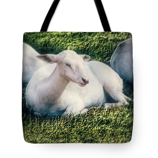 Out To Pasture Tote Bag by Melanie Lankford Photography