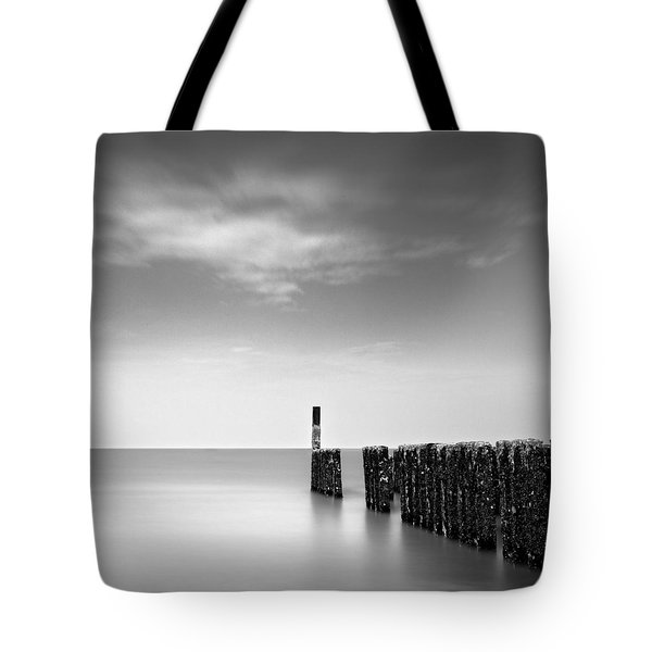 Out To Sea Tote Bag by Dave Bowman