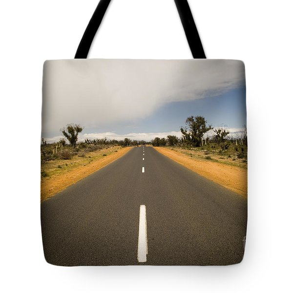 Outback Road Tote Bag by Tim Hester