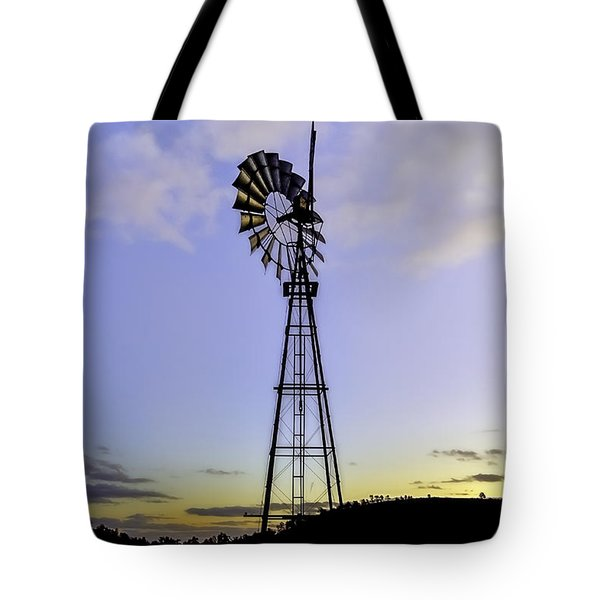 Outback Windmill Tote Bag