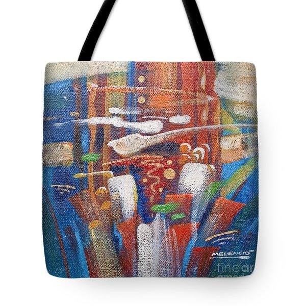 Outburst Tote Bag