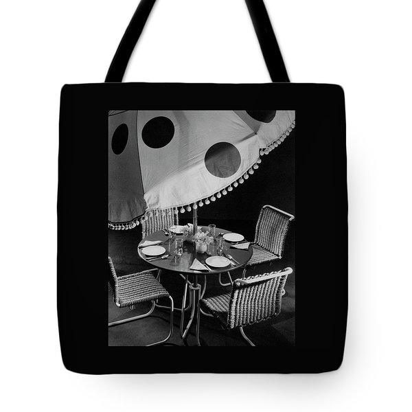 Outdoor Furniture Tote Bag