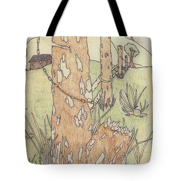 Outdoors Tote Bag