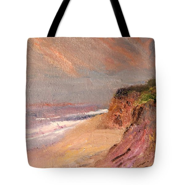 Outer Cape Sunset Tote Bag