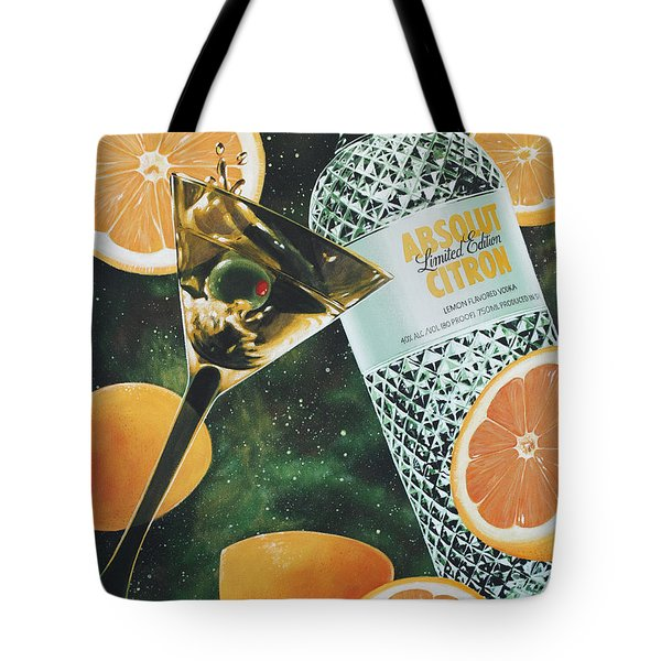 Outer Citron Tote Bag