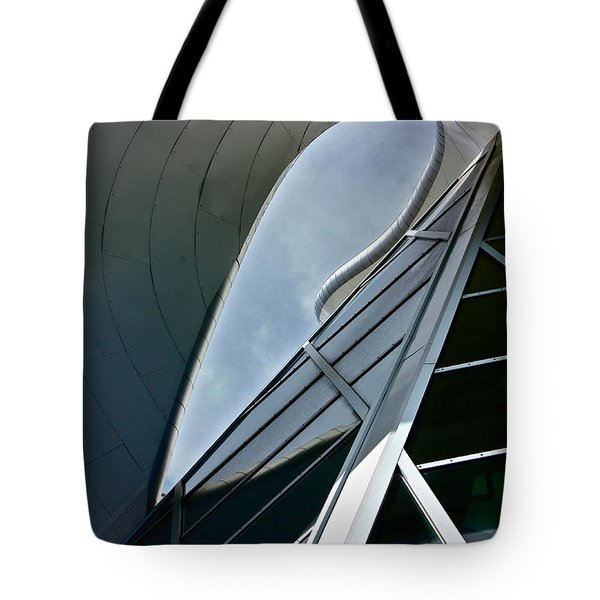 Outer Space Tote Bag by Linda Bianic