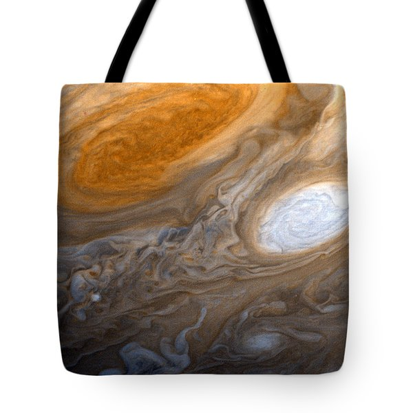 Outer Space Two Six Four Tote Bag by Nasa Usgs