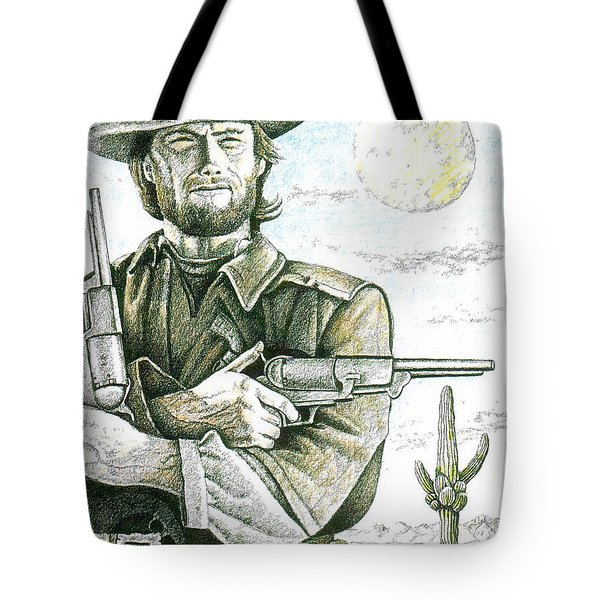 Outlaw Josey Wales Tote Bag