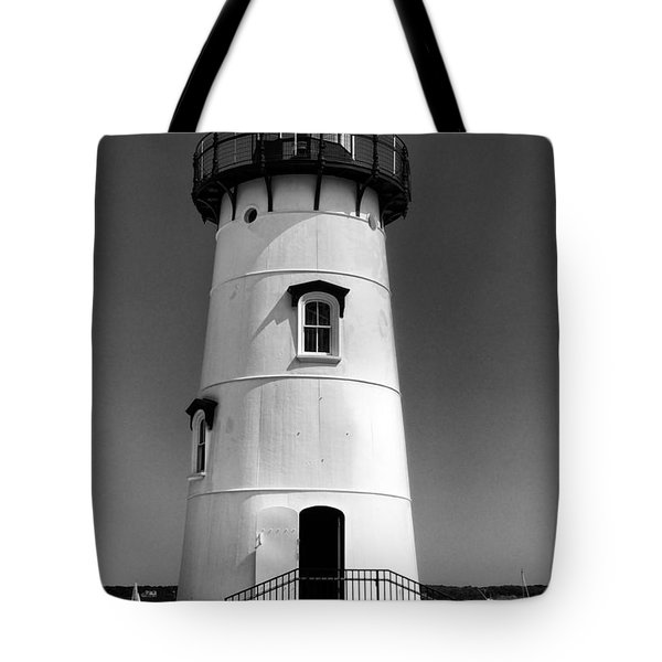 Outside Edgartown Lighthouse Tote Bag