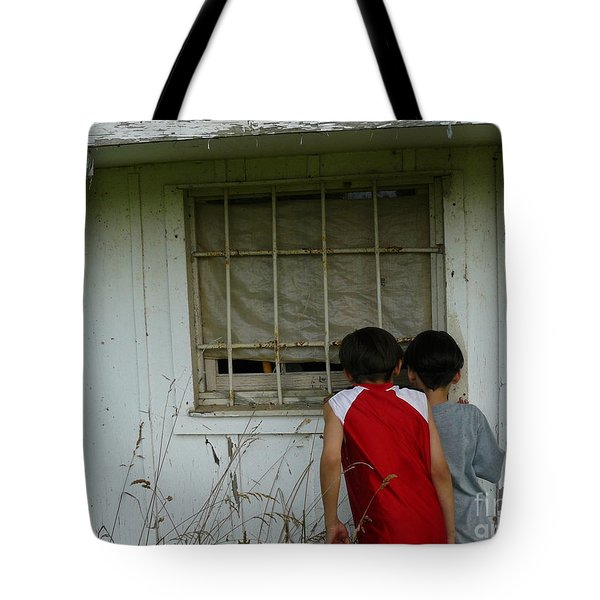 Tote Bag featuring the photograph Outside Looking In by Jane Ford