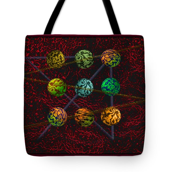 Outside The Box Tote Bag