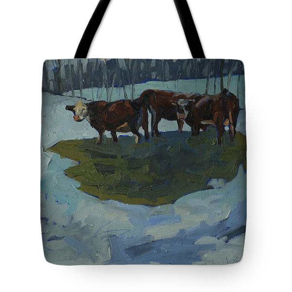 Outstanding In Their Field Tote Bag by Phil Chadwick