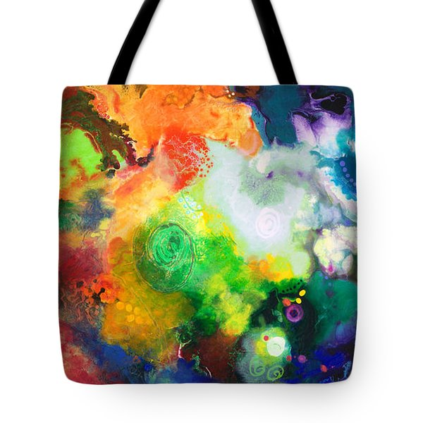 Outward Bound Tote Bag by Sally Trace