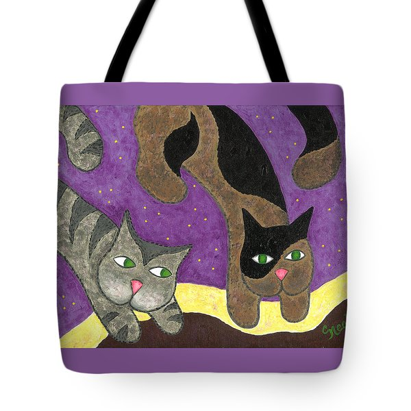 Over Cover Cats Tote Bag