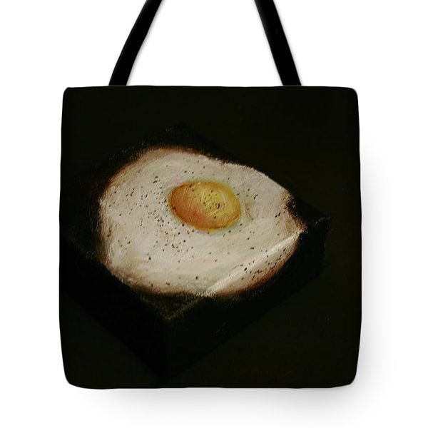 Over Easy Tote Bag by Jean Cormier
