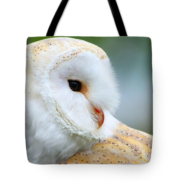 Over Her Shoulder  Tote Bag by Heather King