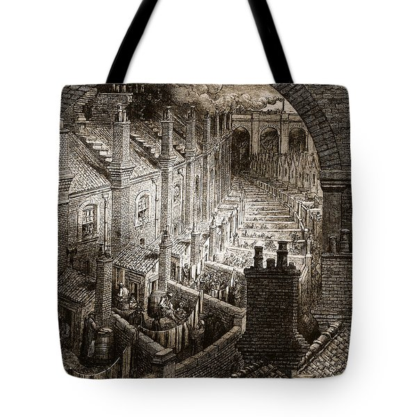 Over London Tote Bag