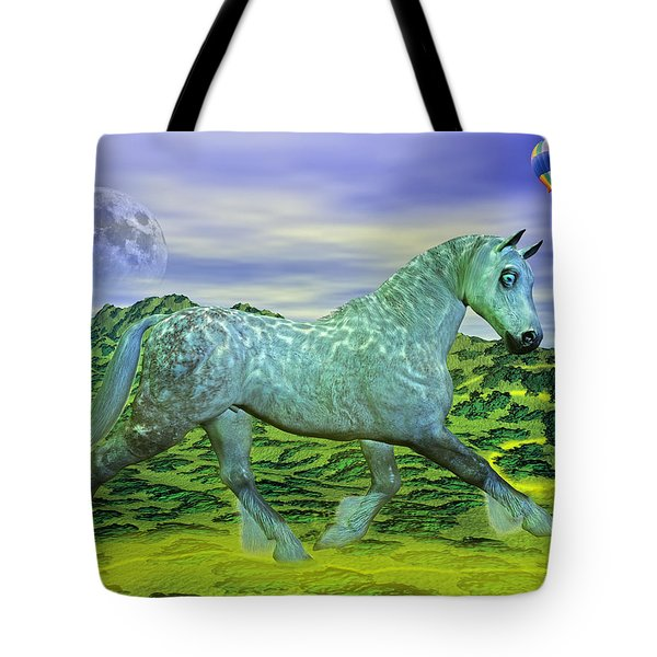 Over Oz's Rainbow Tote Bag by Betsy Knapp