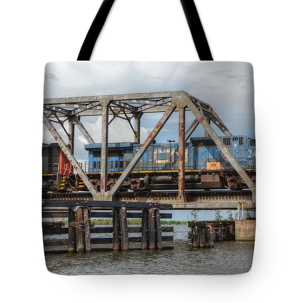Over Pass Manchac Tote Bag by Charlotte Schafer