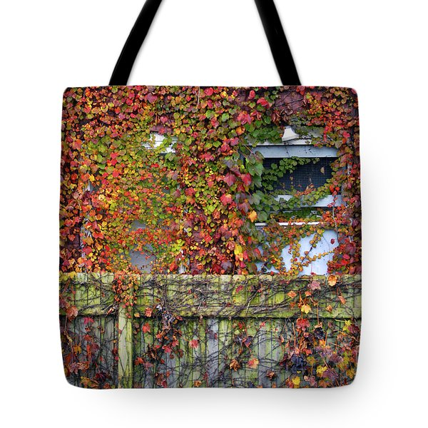 Over The Back Fence Tote Bag by Paul W Faust -  Impressions of Light