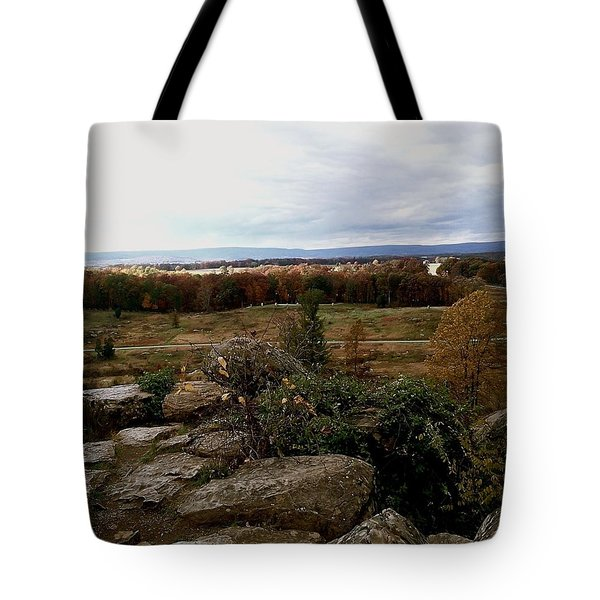 Over The Battle Field Of Gettysburg Tote Bag