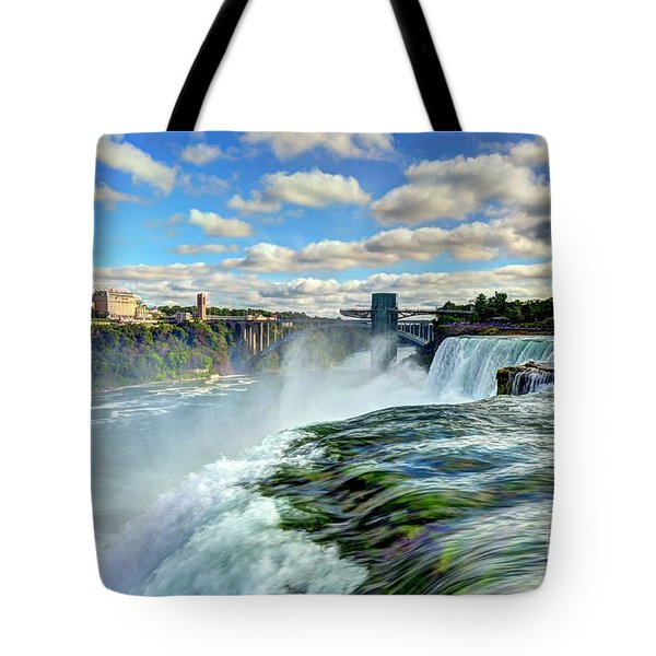 Over The Edge 1 Tote Bag