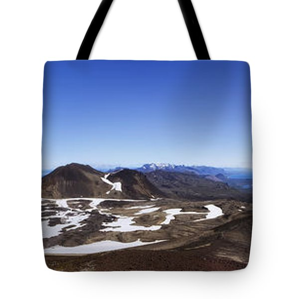 Over The Hills. Across The Fields. Tote Bag