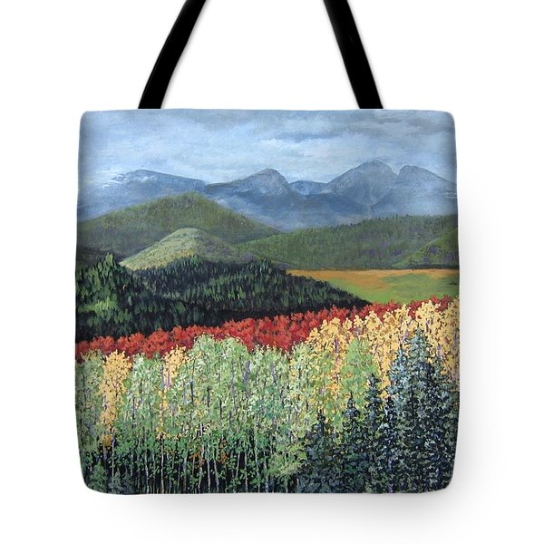 Over The Hills And Through The Woods Tote Bag