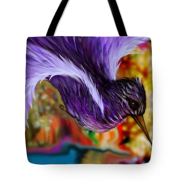 Over The Pond Tote Bag