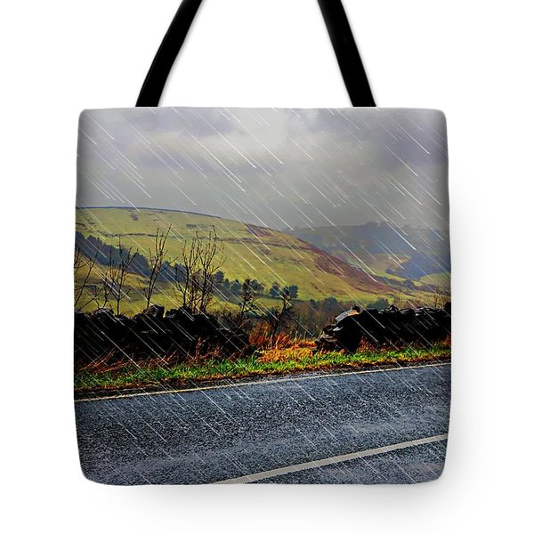 Over The Tops Tote Bag