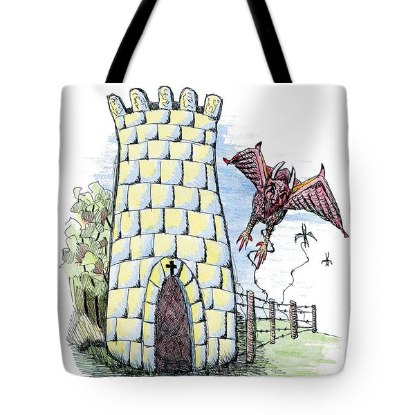 Overcome Evil With Good Tote Bag by Tanya Provines