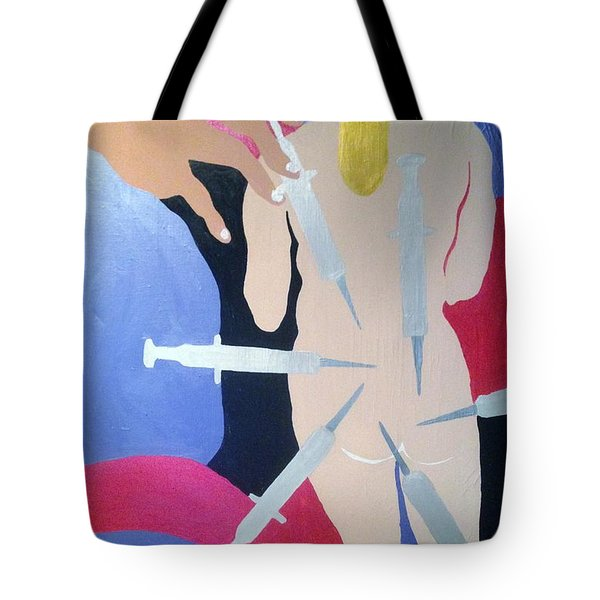 Overdose Tote Bag by Erika Chamberlin