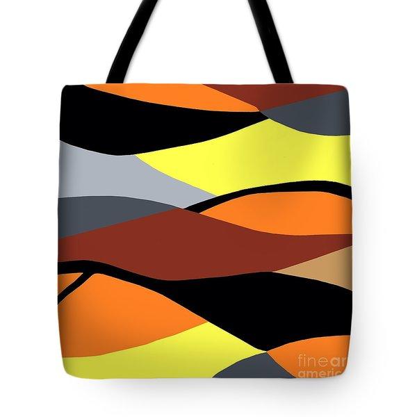 Overlap Tote Bag by Eloise Schneider