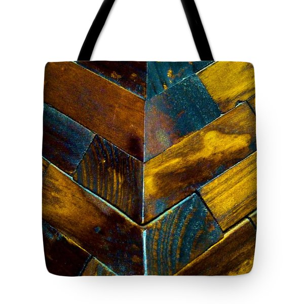 Overlap Tote Bag by Newel Hunter