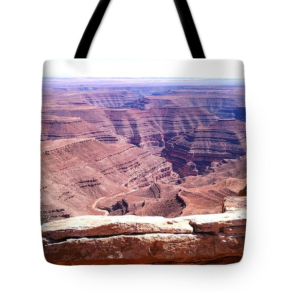 Overlook Into The Layers Of Time Tote Bag