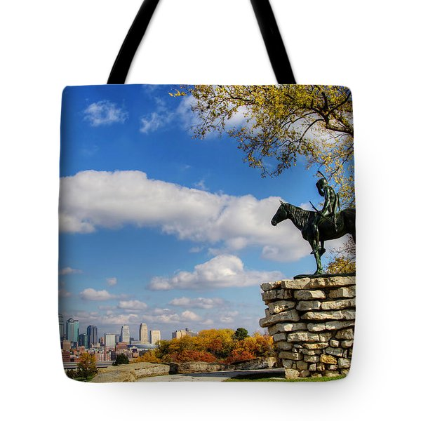 Overlooking Kansas City Tote Bag