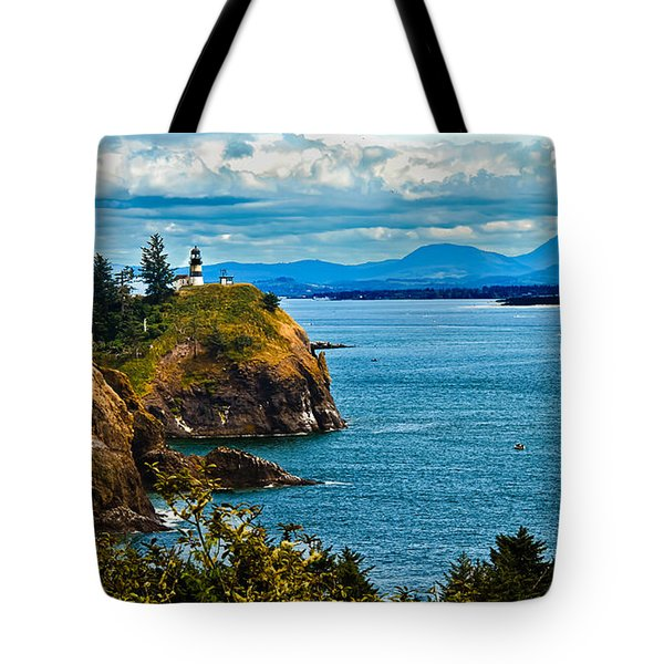 Overlooking Tote Bag