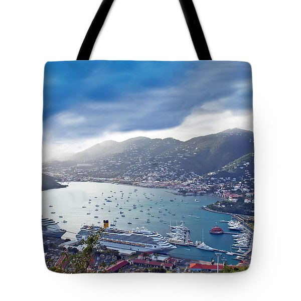 Overlooking The Bay Tote Bag by Aimee L Maher Photography and Art Visit ALMGallerydotcom