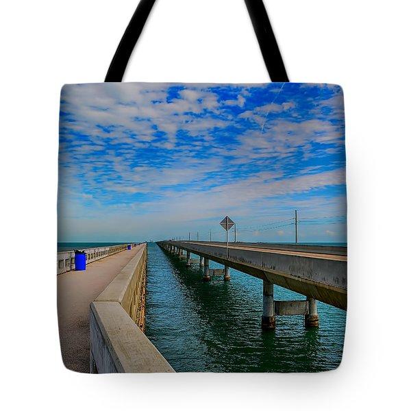 Overseas Highway Florida Keys Tote Bag