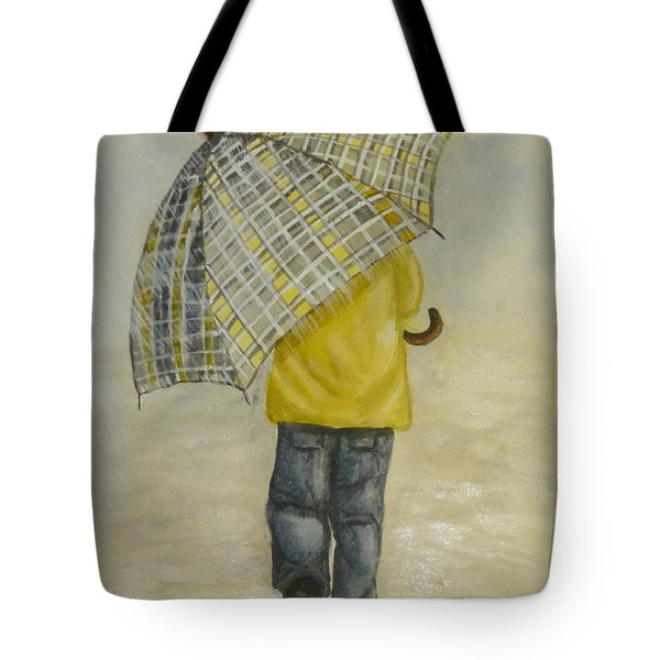 Oversized Umbrella Tote Bag by Kelly Mills