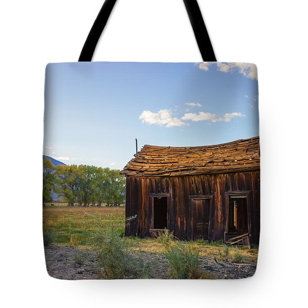 Owens Valley Shack Tote Bag