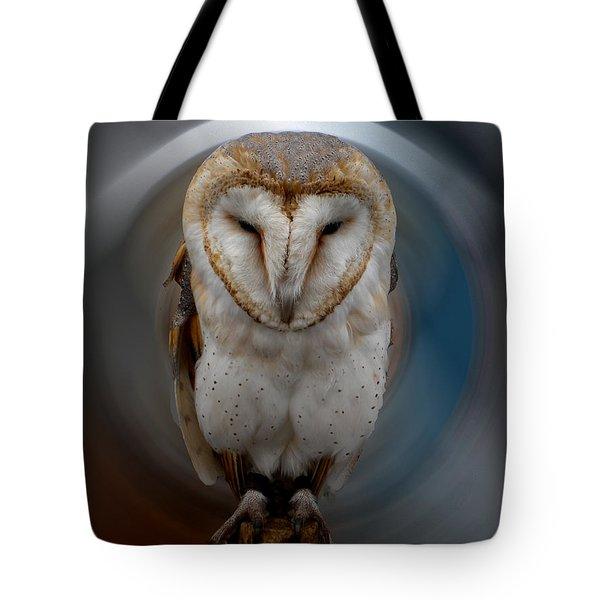 Owl Alba  Spain  Tote Bag