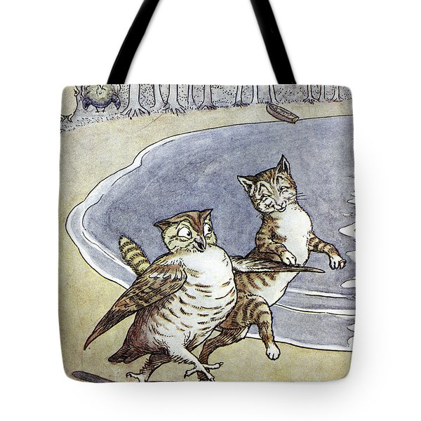 Owl And The Pussycat Tote Bag by Granger