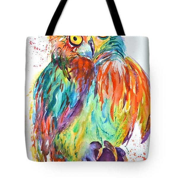 Owl Be Seeing You Tote Bag by Beverley Harper Tinsley