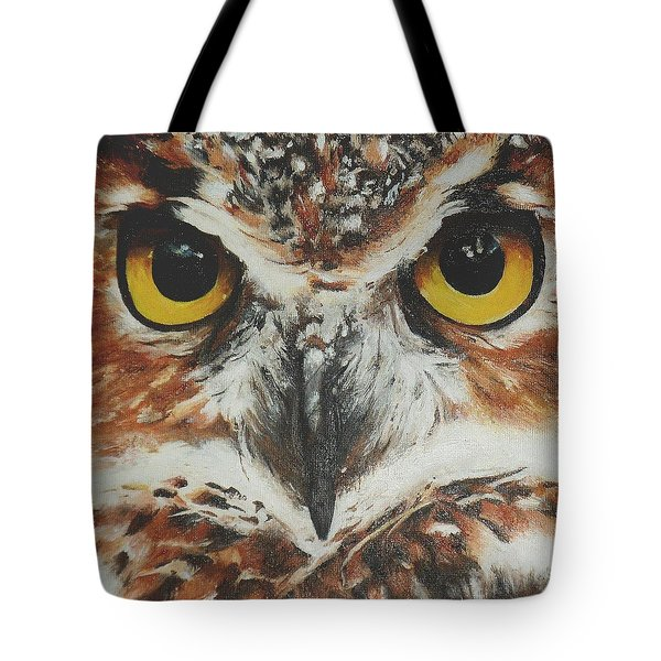 OwL Tote Bag by Cherise Foster