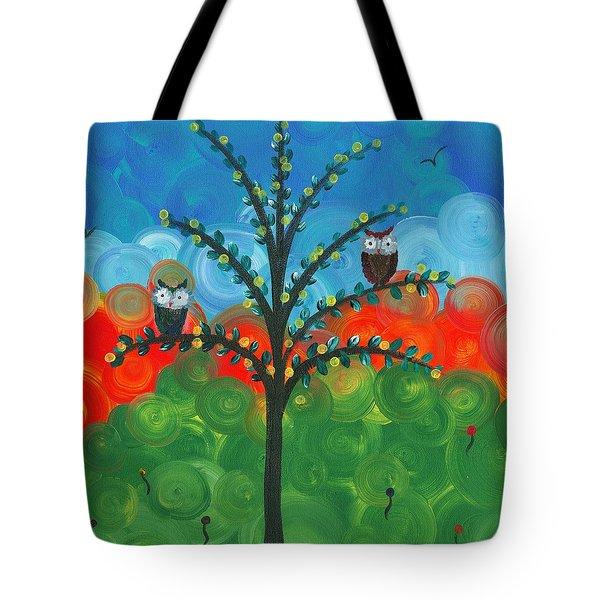 Owl Couples - 01 Tote Bag