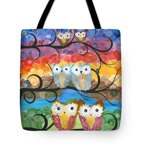 Owl Expressions - 00 Tote Bag