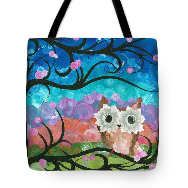 Owl Expressions - 01 Tote Bag