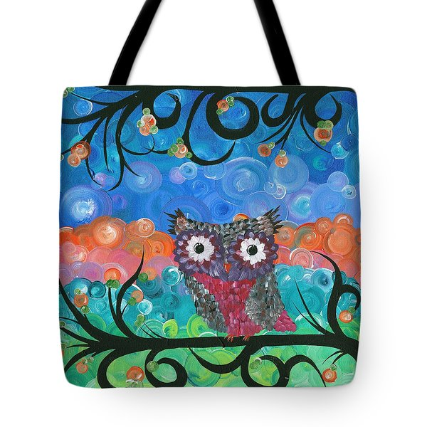 Owl Expressions - 02 Tote Bag
