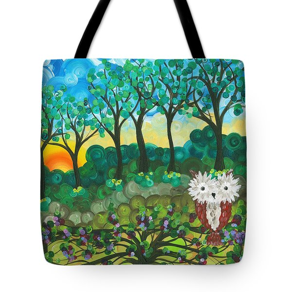 Owl Expressions 06 Tote Bag